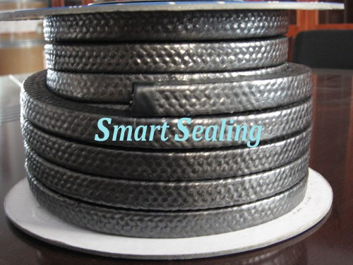 CARBON FILAMENT WITH GRAPHITE IMPREGNATED BRAIDED PACKING  » SMT-FP-1311