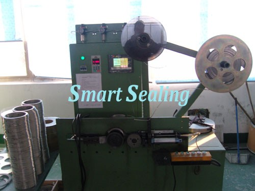 Vertical semi-automatic winding machine for SWG » SMT-PX-500B
