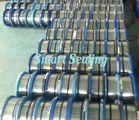 Flat Stainless steel strip for Spiral wound gasket hoop » SMT-820